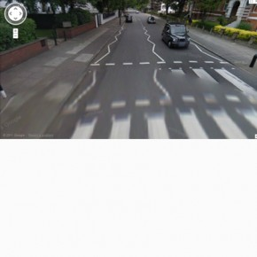 Street View: The Beatles – Abbey Road