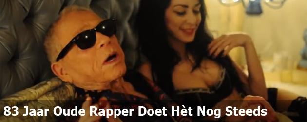 83 Jaar Oude Rapper Doet Het Nog Steeds