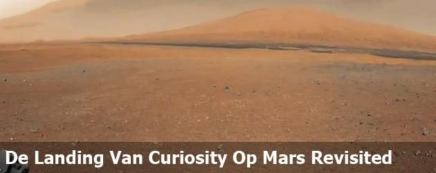 De Landing Van Curiosity Op Mars Revisited