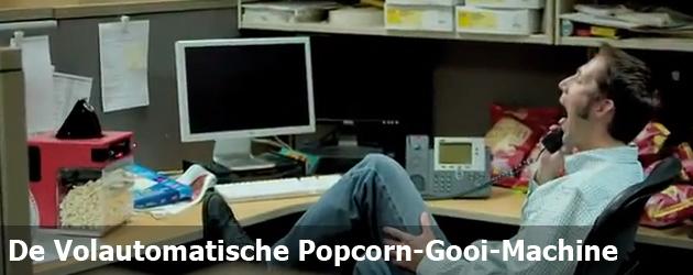 De Volautomatische Popcorn-gooi-machine
