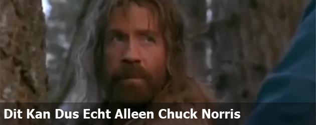 Dit Kan Dus Echt Alleen Chuck Norris