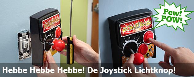 Hebbe Hebbe Hebbe! De Joystick Lichtknop!