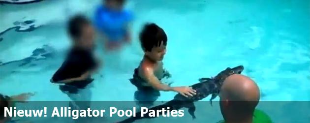 Nieuw! Alligator Pool Parties