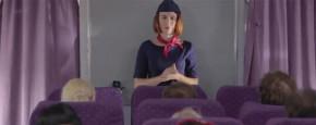 Poolse Stewardessen Doen Het Even Voor