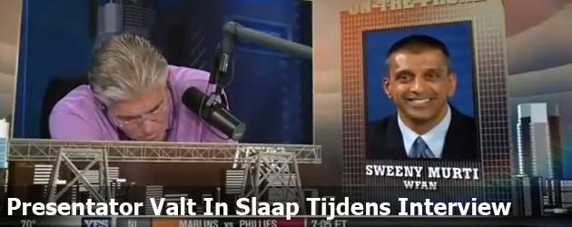 Presentator Valt In Slaap Tijdens Interview