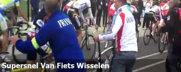 Supersnel Van Fiets Wisselen