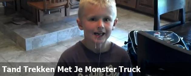 Tand Trekken Met Je Monster Truck