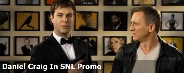 Daniel Craig In SNL Promo