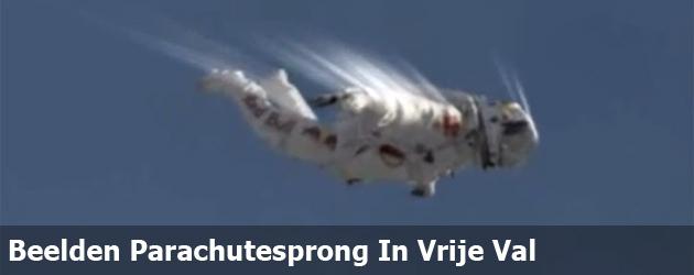 Beelden Parachutesprong Record In Vrije Val