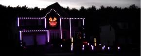 Daar Is De Halloween Lichtshow Weer
