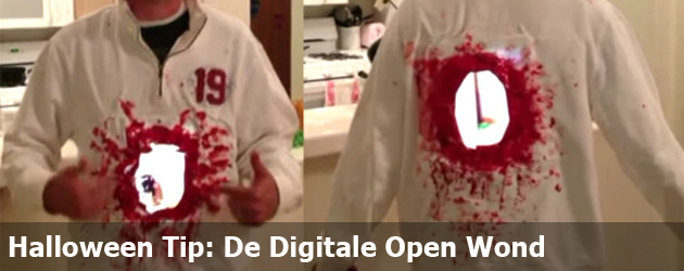 Halloween Tip: De Digitale Open Wond