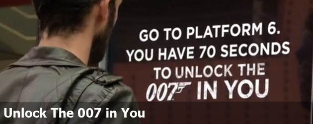 Unlock The 007 in You