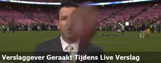 Verslaggever Geraakt Tijdens Live Verslag