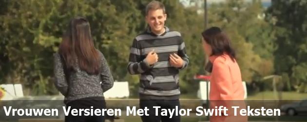Vrouwen Versieren Met Taylor Swift Teksten
