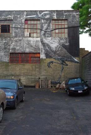 Vette Straatkunst Van ROA