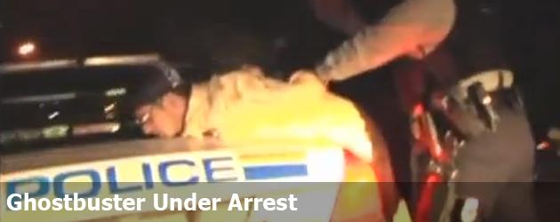 Ghostbuster Under Arrest