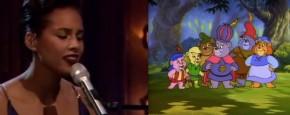 Alicia Keys Zingt Het Gummi Beren Lied