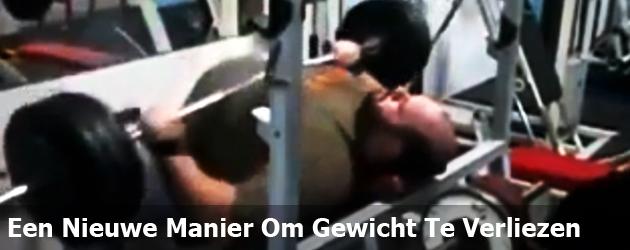 Een Nieuwe Manier Om Gewicht Te Verliezen