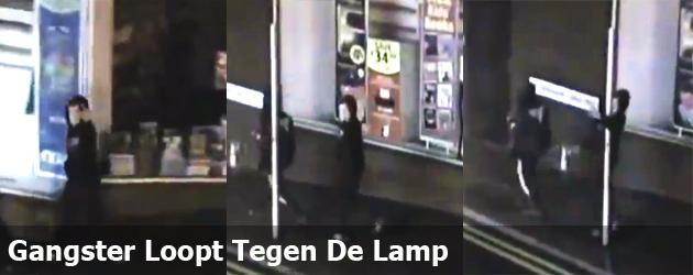 Gangster Loopt Tegen De Lamp