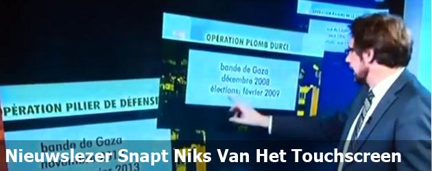 Nieuwslezer Snapt Niks Van Het Touchscreen