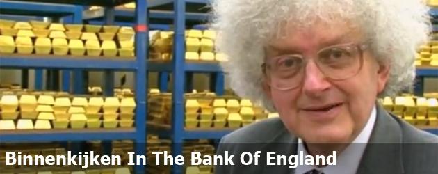 Binnenkijken In The Bank Of England