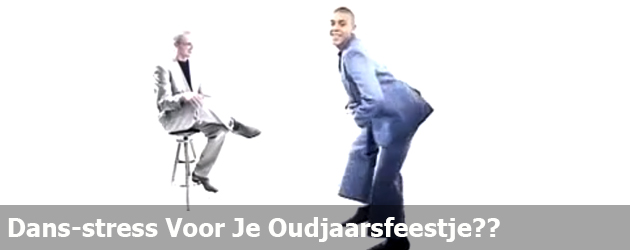 Dans-stress Voor Je Oudjaarsfeestje??