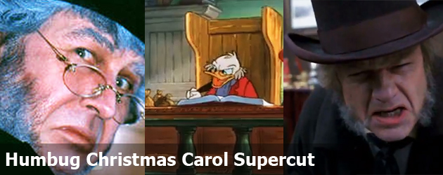 Humbug Christmas Carol Supercut