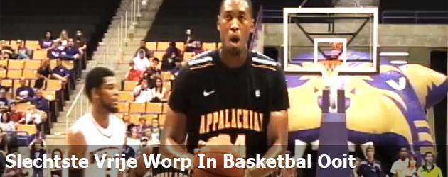 Slechtste Vrije Worp In Basketbal Ooit
