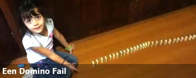 Een Domino Fail