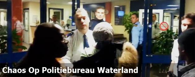 Chaos Op Politiebureau Waterland