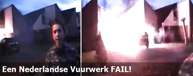 Een Nederlandse Vuurwerk FAIL!