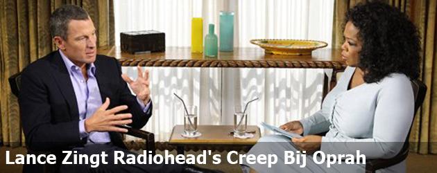Lance Zingt Radiohead's Creep Bij Oprah