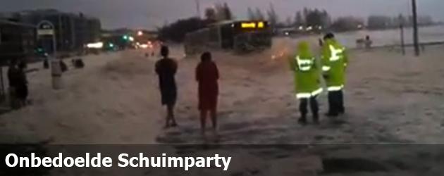 Onbedoelde Schuimparty