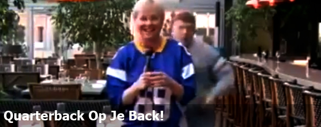 Quarterback Op Je Back!