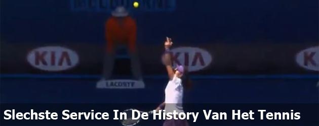 Slechste Service In De History Van Het Tennis