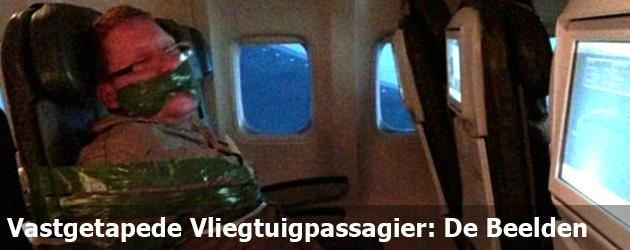 Vastgetapede Vliegtuigpassagier: De Beelden