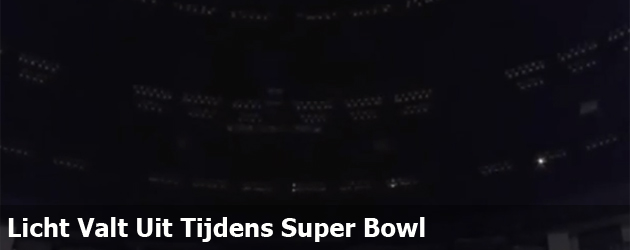 Licht Valt Uit Tijdens SuperBowl