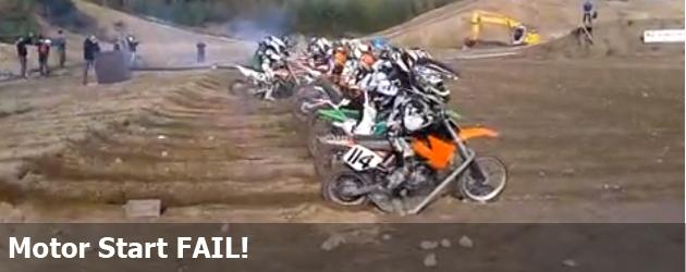 Motor Start FAIL!