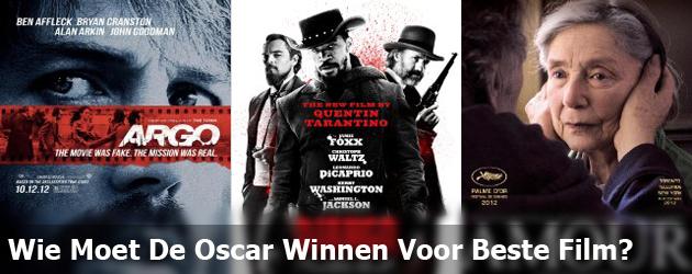 Wie Moet De Oscar Winnen Voor Beste Film