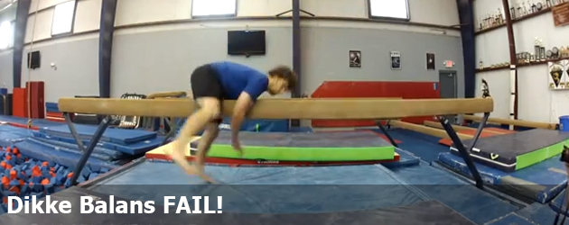 Dikke Balans FAIL!