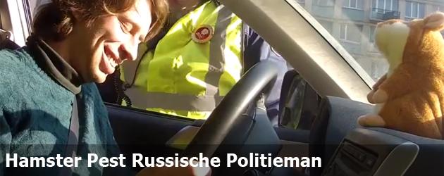 Hamster Pest Russische Politieman