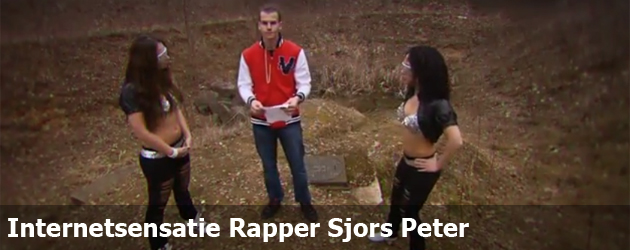 Internetsensatie Rapper Sjors Peter