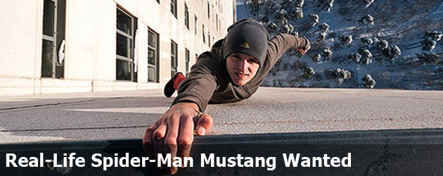Real-Life Spider-Man Mustang Wanted