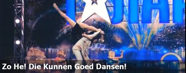 Zo He! Die Kunnen Goed Dansen!
