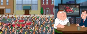 Family Guy Over De Boston Marathon