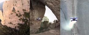 Ongelofelijke Wingsuit Cave Flight!