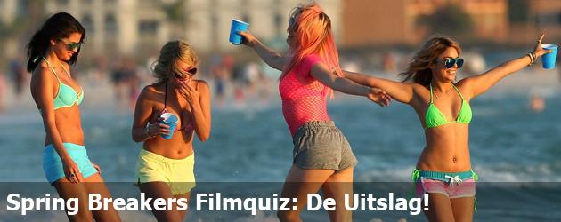 Spring Breakers Filmquiz: De Uitslag!