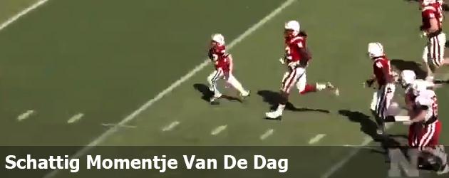 Schattig Momentje Van De Dag ; jongetje met kanker scoort touchdown