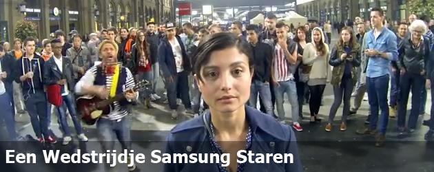 Een Wedstrijdje Samsung Staren