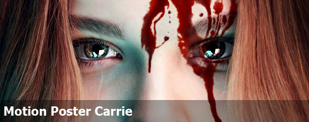 Motion Poster Carrie